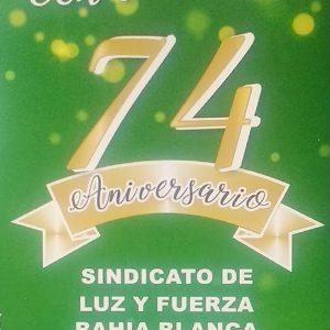 Cena Aniversario 74°