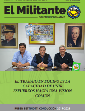 El militante Julio 2019